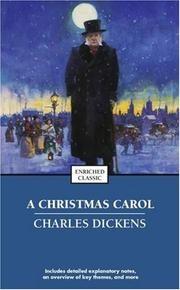 Christmas Carol Book Cover