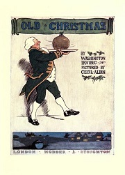 old Christmas book cover